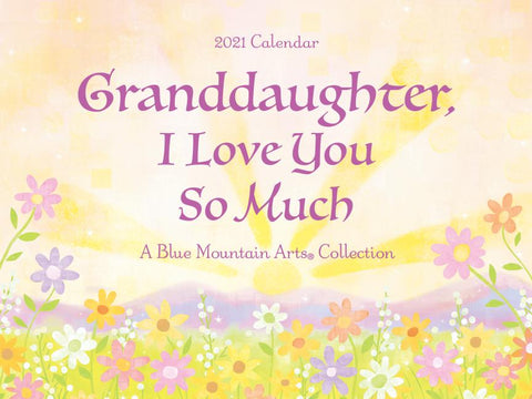 Blue Mountain To My Daughter 2021 Calendar