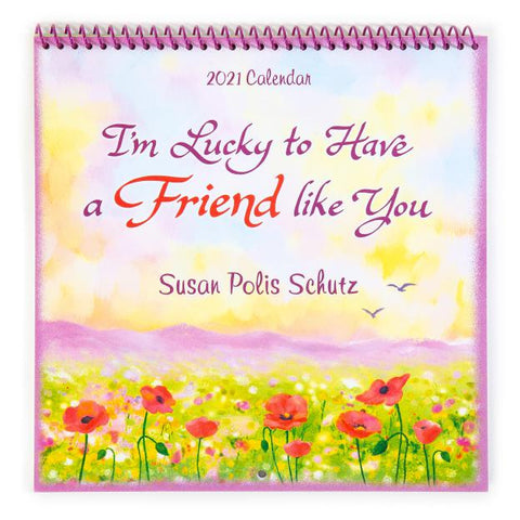 Blue Mountain - I am Lucky to have a Friend like you Calendar 2021