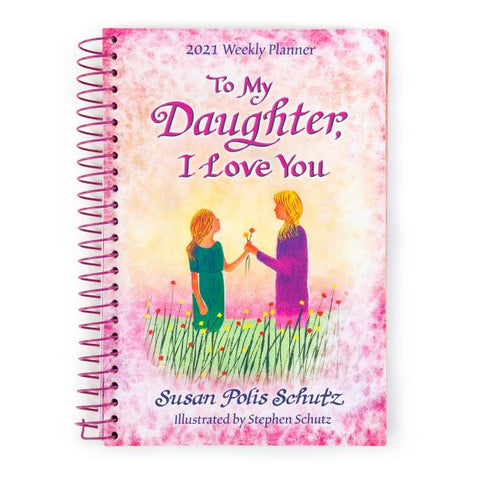 Blue Mountain - Daughter I Love You Weekly Planner