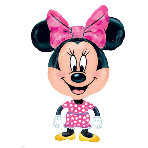 Anagram International Minnie Mouse Balloon Buddy Air Walker, Multicolor