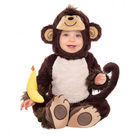 Monkey Around Costume 12-18 Months