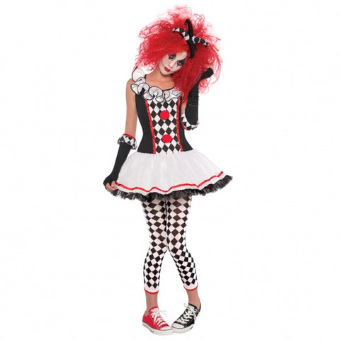 Teens Halloween Harlequin Honey Ages 14 - 16