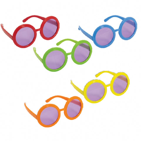Feeling Groovy Solid Glasses 10Ct