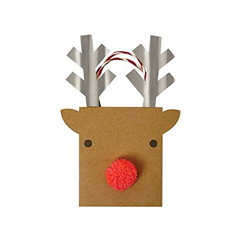 Meri Meri, Reindeer Gift Bag - Small - Kids Love Design
