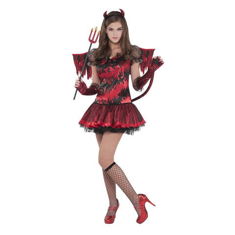 Teens Hot Stuff Devil Costume - Age 14-16 Years
