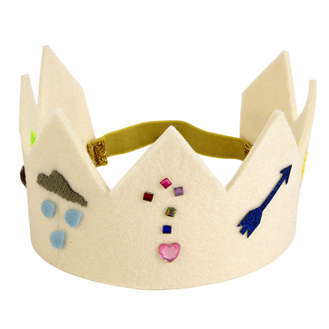 Meri Meri Felt Party Crown, 1 Crown