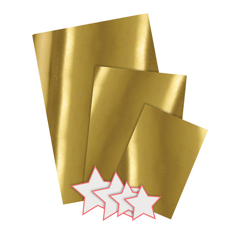 Meri Meri 6 Gold Gift Bags And Stickers