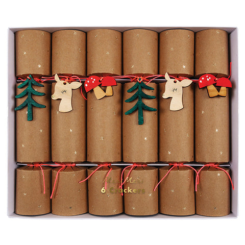Woodland Deco Crackers Medium