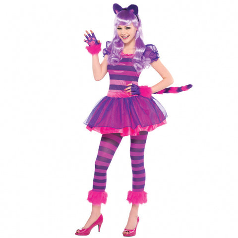 Teens Cheshire Cat Costume - Age 14 -16 Years