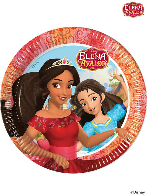 Elena Of Avalor Party Paper Plates (Pack Of 8)