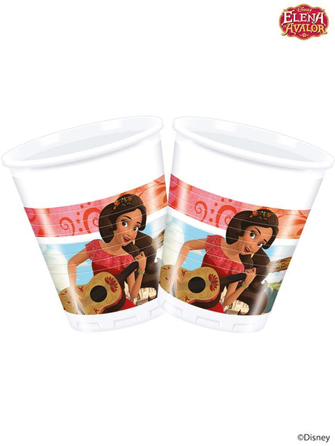 Elena Of Avalor Plastic Party Cups (Pack Of 8)