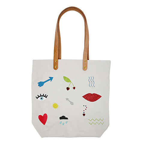 Icons Tote Bag