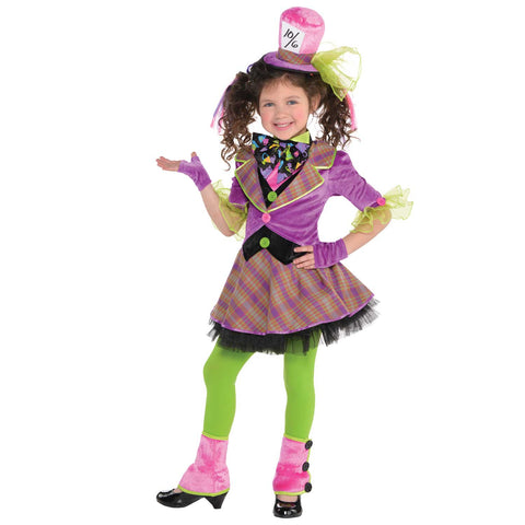 Mad Hatter Costume - Age 8 -10 Years