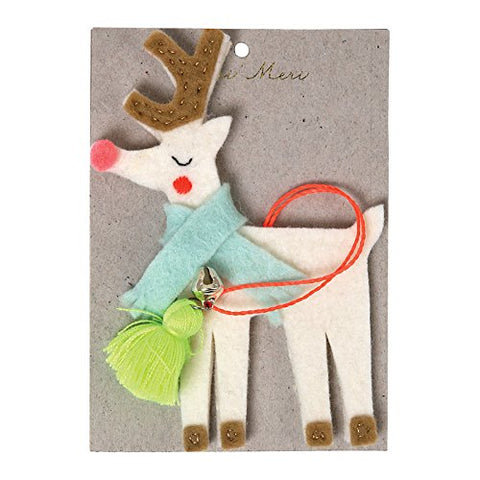 Meri Meri Felt Reindeer Decoration