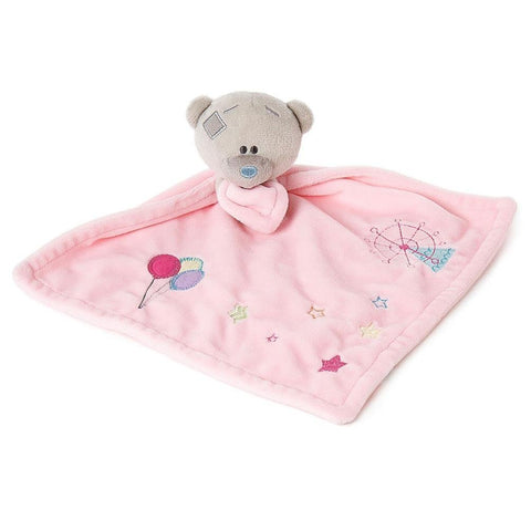 Me To You Bear Tiny Tatty Teddy Bear Pink Baby Comforter