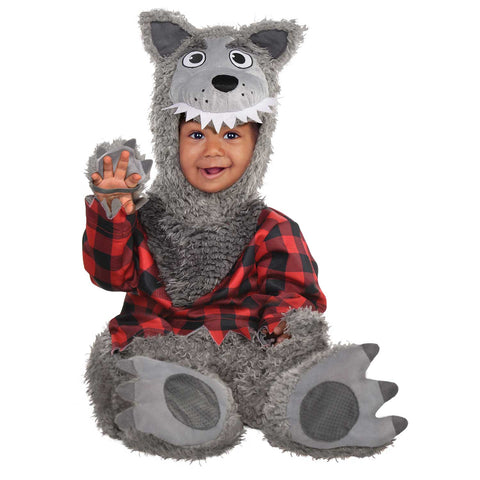 Baby Wolf Costume - Age 12-24 Months