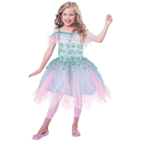 Aqua Fairy Costume Age 6 -8 Years