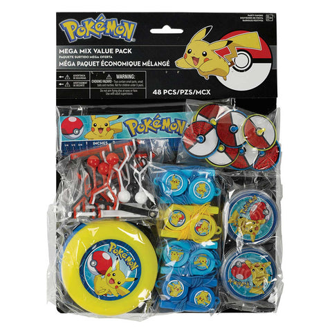 Pokemon Mega Value Favour Packs 48 Piece