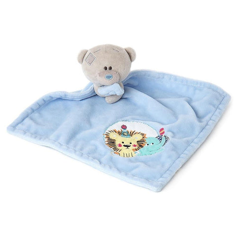 Me To You Bear Tiny Tatty Teddy Bear Blue Baby Comforter