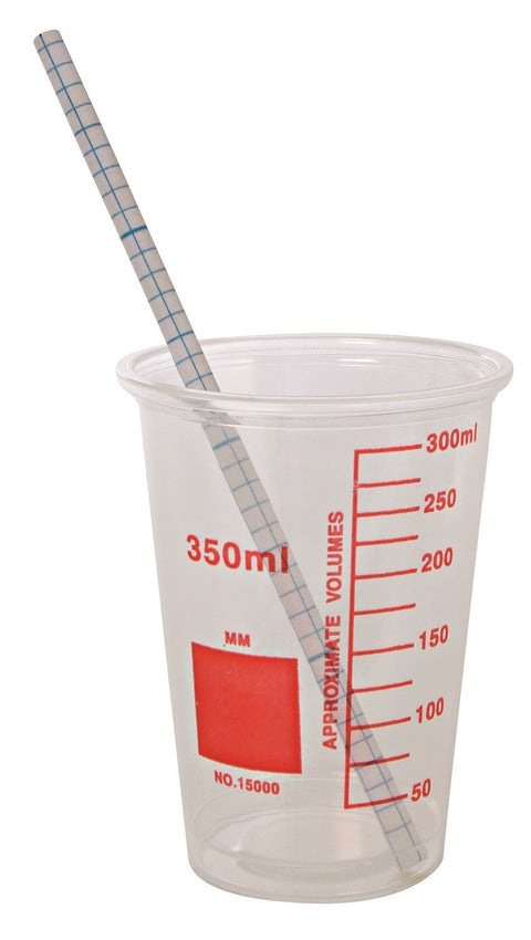 Fundamentals Science Party Cups and Matching Straws