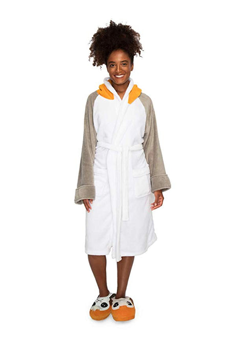 Porg Star Wars Ladies Robe with Hood
