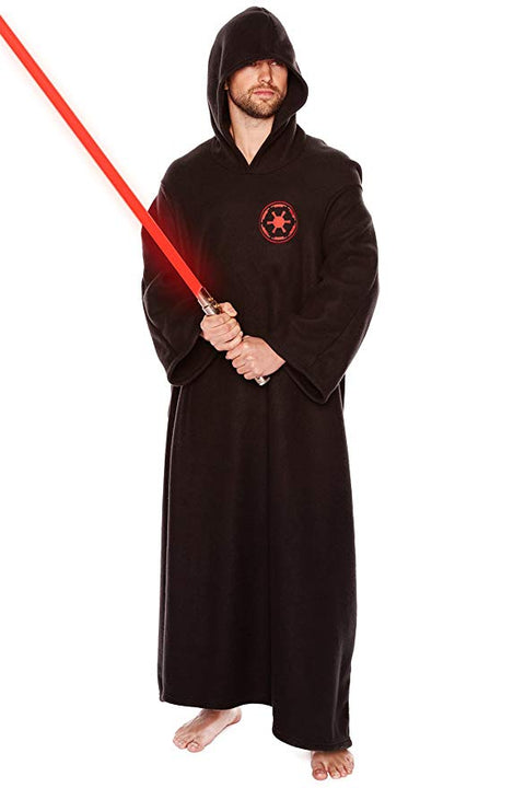 91091  Galactic Empire Star Wars Fleece Lounger Black with embroidered logo Adult One Size