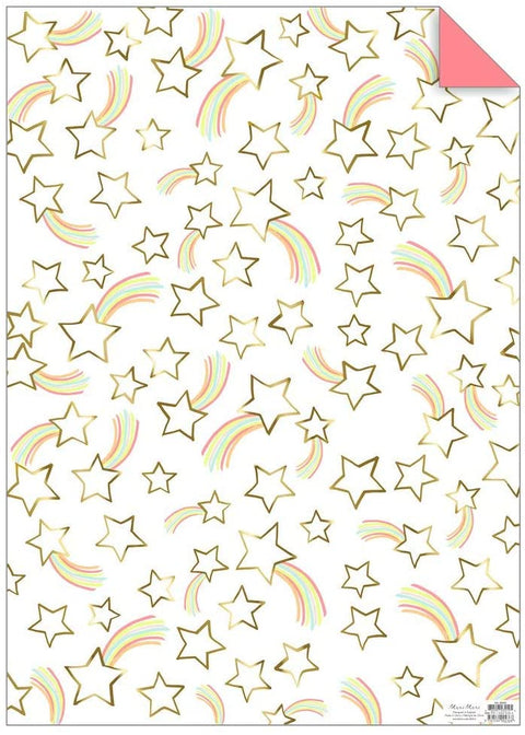 Shooting Rainbow Star Wrap