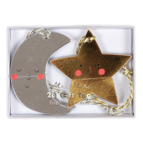 Moon And Star Gift Tags S/20