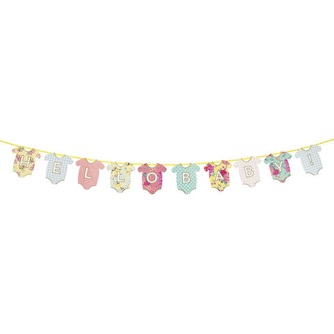 Baby Shower Baby On Board Pastel Garland Bunting Party Decoration Gift