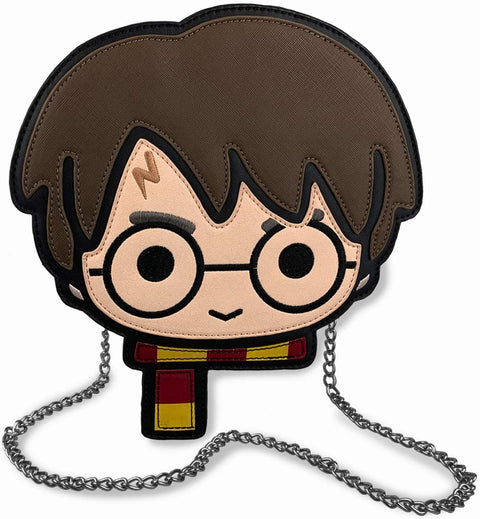 Harry Potter Head Kawaii Style Bag