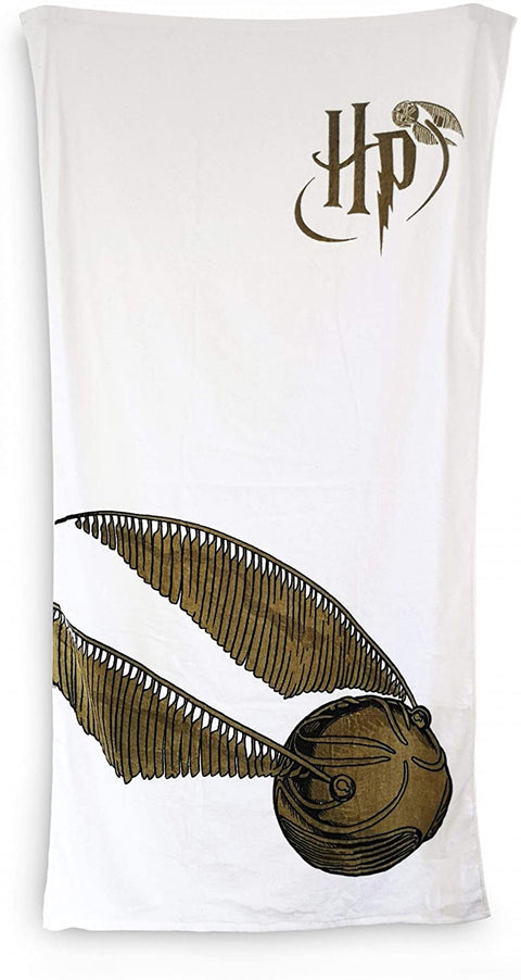 Golden Snitch Harry Potter Towel 750 x 159 CM