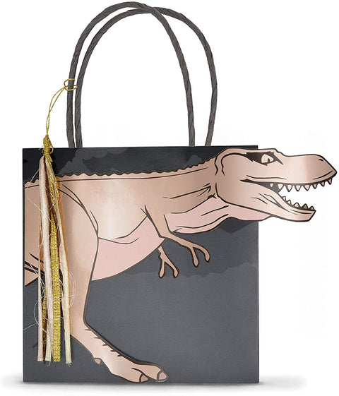 Dinosaur Shaped Party Bags 8 per pack