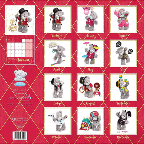 Me to You Square Tatty Teddy Calendar 2021