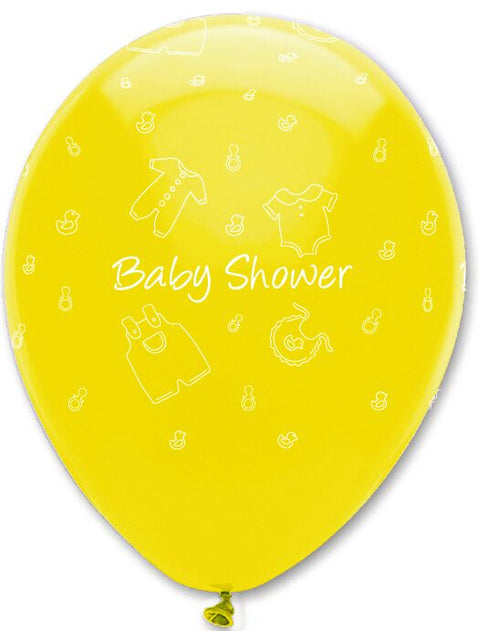 Baby Clothes Baby Shower Latex Balloons