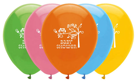 Happi Tree Balloons [6] - Baby Shower Party Supplies Unisex