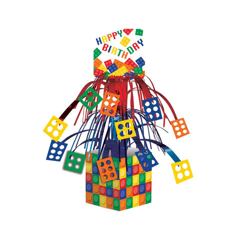 Block Party Cascade Centerpiece Decorations Birthday Party Supplies Boys Girls