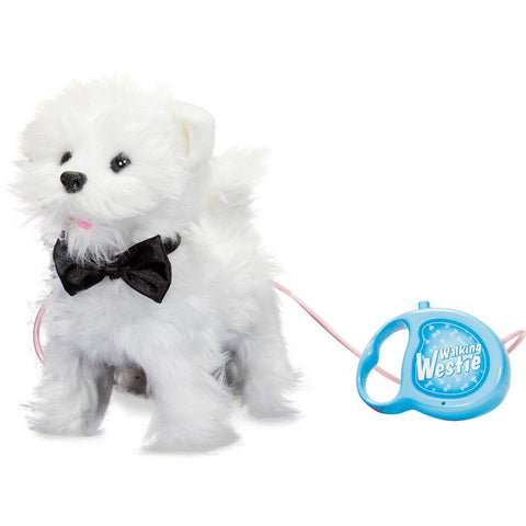 Walking Westie Dog Toy
