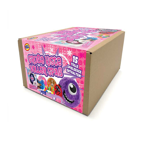 Big Bumper Box of Fun - Pink