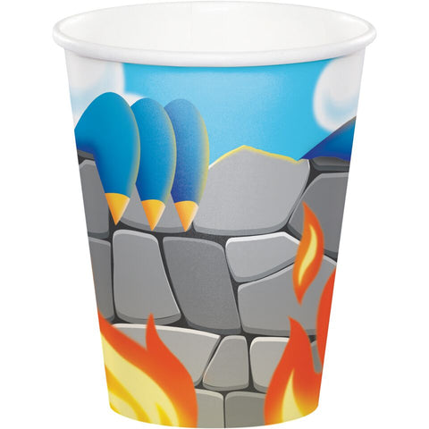 8Ct Dragon Cups, Disposable Cups