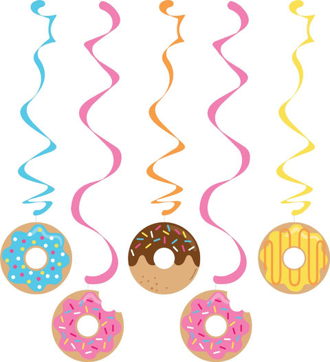 Doughnut Time Assorted Dizzy Danglers