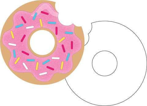 Donut Time Invitations (8 Count)