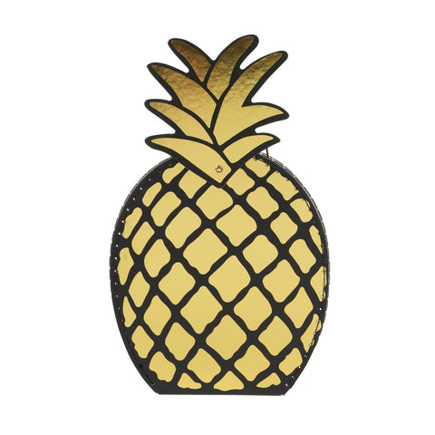 Gold Pineapple Suitcase