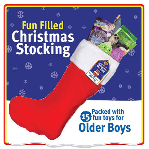 Older Boy Value Pre Filled Christmas Santa Stocking
