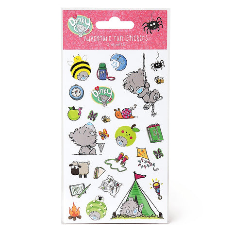 Dinky Adventure Stickers