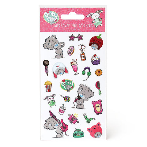 Me To You My Dinky Bear Sleepover Stickers