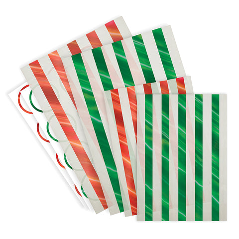 Striped Glassine Treat Bags