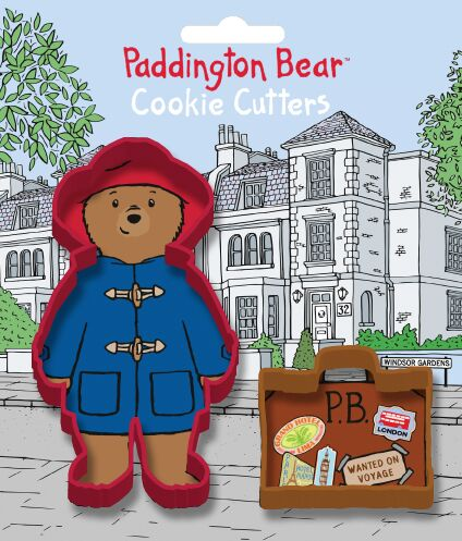 Paddington Bear Cookie Cutter Set