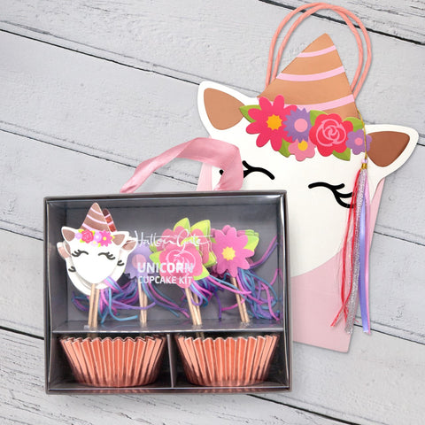Hatton Gate Unicorn Cupcake Kit and Party Bag Pack