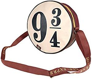Hogwarts Express Platform 9 Circular Satchel Bag with Custom-Zip-Pulls