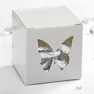 Elegant Butterfly Favour Boxes